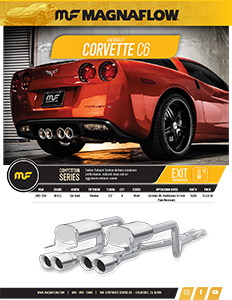 Image of 2012-2013 Corvette C6 Cat-Back Exhaust Systems PDF for download