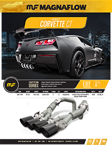 Image of 2014-2019 Corvette C7 Axle-Back Exhaust Systems PDF for download