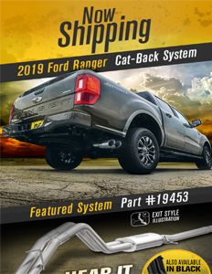 Image of  2019 Ford Ranger Cat-back Exhaust Systems PDF for download