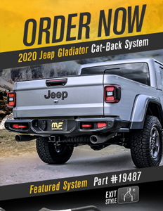 Image of 2020 Jeep Gladiator Cat-back Exhaust Systems PDF for download