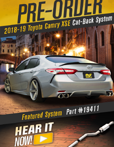 Image of 2018-2019 Toyota Camry XSE Cat-back Exhaust Systems PDF for download